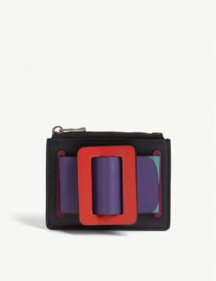 BOYY Buckle leather cardholder