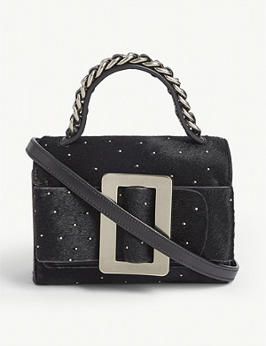 BOYY Fred studded cross-body bag