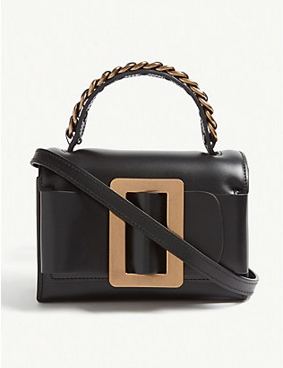 BOYY: Fred leather cross-body bag