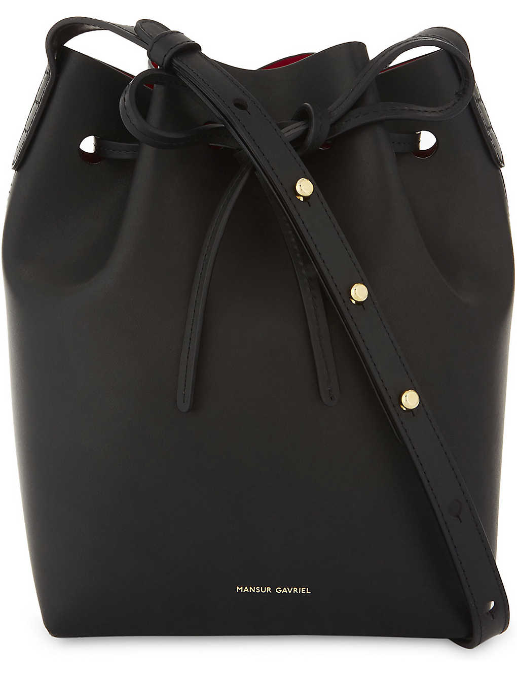 0d2e8f3a9772 MANSUR GAVRIEL - Mini leather bucket bag | Selfridges.com