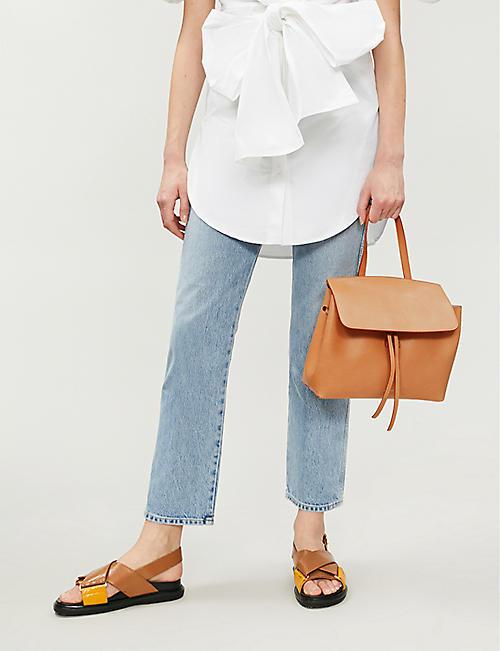 4418deb8f6dd MANSUR GAVRIEL Mini leather lady bag · Quick Shop