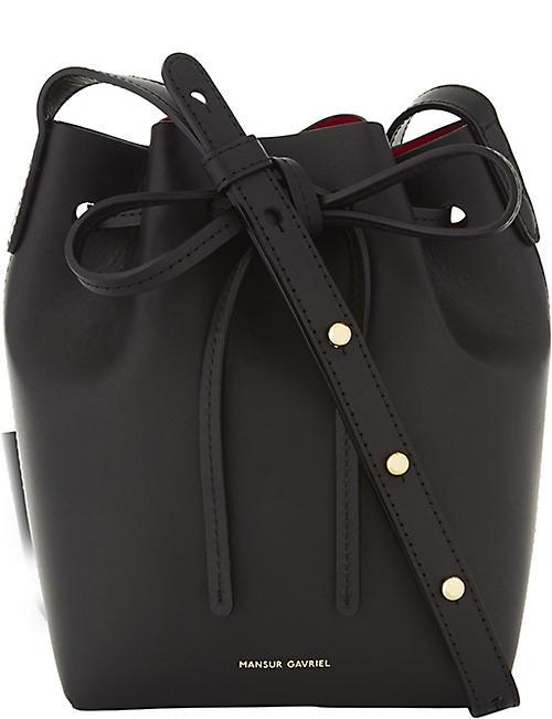 4e355df7ac35 MANSUR GAVRIEL Mini Mini leather bucket bag