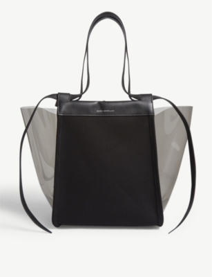 ELENA GHISELLINI Transparent panel tote