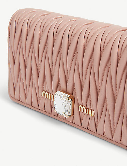 MIU MIU Matelasse wallet-on-chain