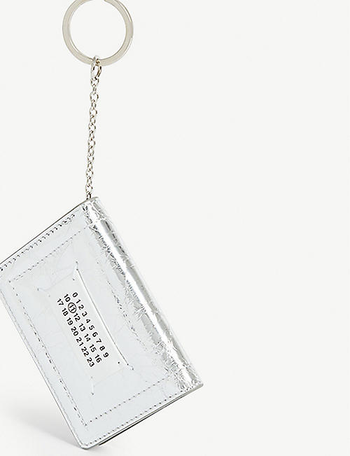 MAISON MARGIELA Card holder keyring