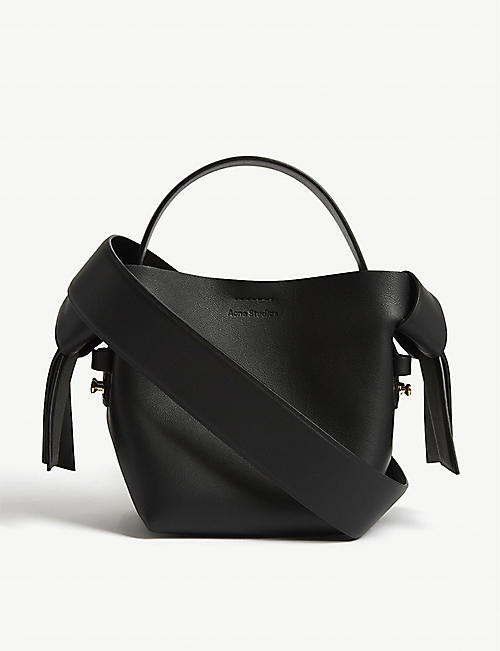 ACNE STUDIOS Musubi mini leather crossbody bag