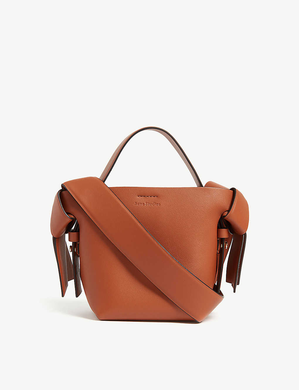 ACNE STUDIOS: Musubi micro leather bag