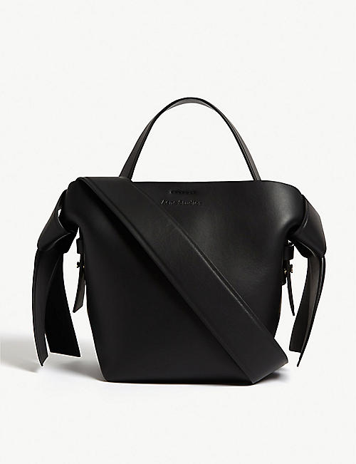 ACNE STUDIOS Musubi micro leather bag
