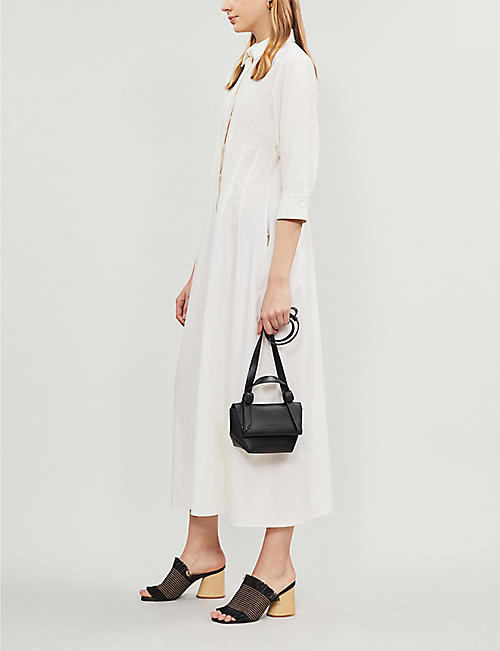 ACNE STUDIOS Musubi Milli leather shoulder bag