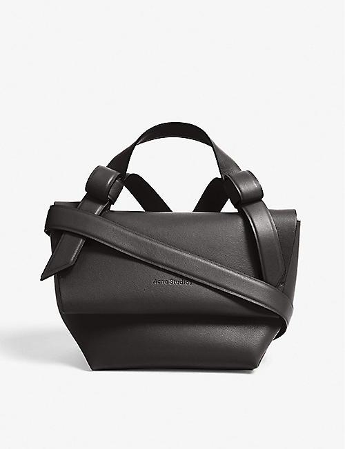 049c55369ff1 ACNE STUDIOS Musubi Milli leather shoulder bag