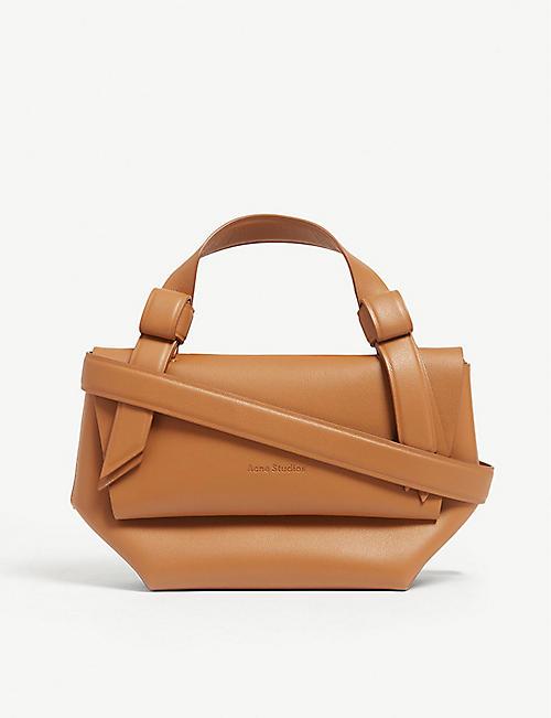 ed0f55db4a ACNE STUDIOS Musubi Milli leather shoulder bag