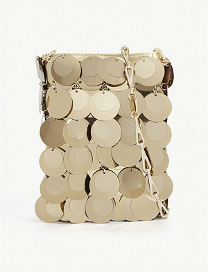 PACO RABANNE Sparkle 1969 sequin-embellished cross-body bag