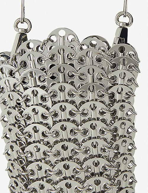 PACO RABANNE Iconic 1969 mini shoulder bag