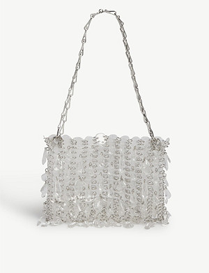 PACO RABANNE Iconic 1969 clear tote