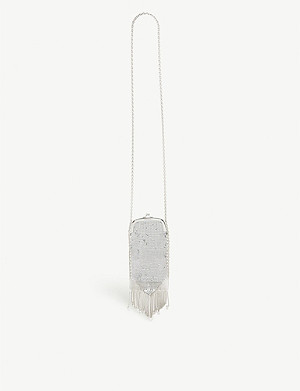 PACO RABANNE Pampilles crystal tassel shoulder bag