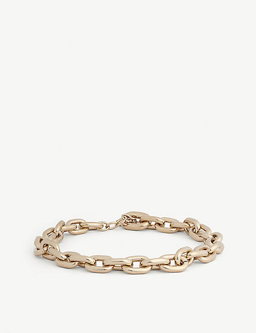 PACO RABANNE Chunky chain necklace