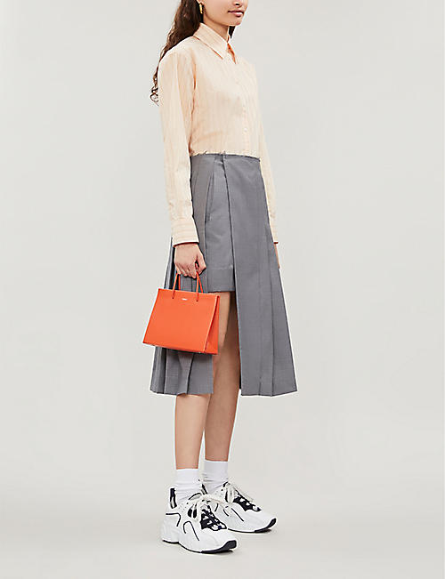 MEDEA Hanna leather cross-body bag
