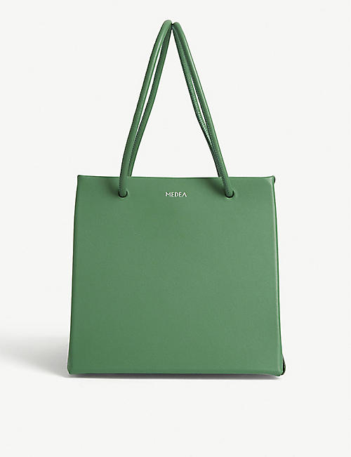 MEDEA Ice leather tote bag