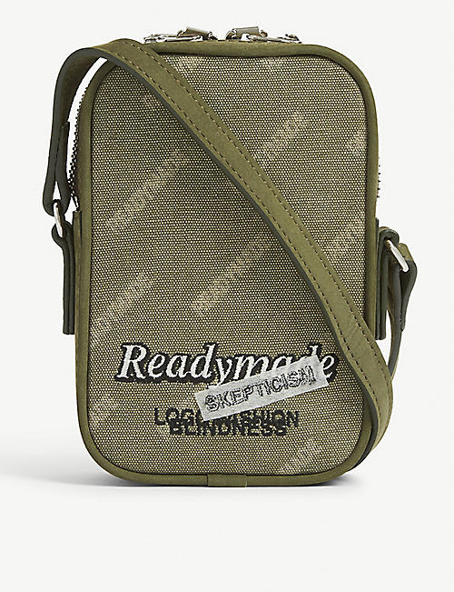 READYMADE Canvas nano crossbody bag