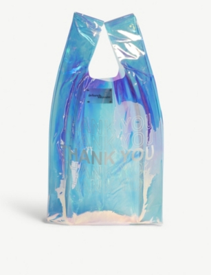 GELAREH MIZRAHI Thank you iridescent tote