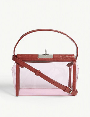 GU DE Top-handle PVC shoulder bag