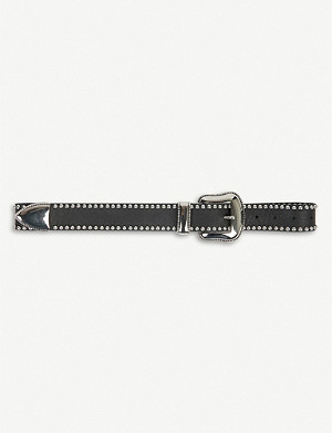 BELOW THE BELT Barcelona studded leather belt