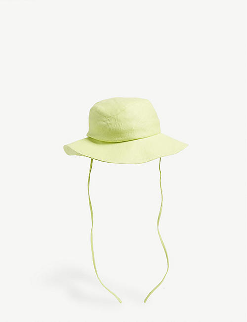 CLYDE Linen fishermans hat