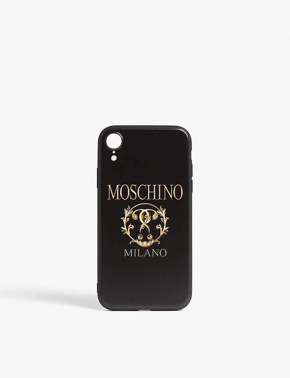 meet a26d5 18e65 MOSCHINO - Double question mark logo iPhone XR case | Selfridges.com