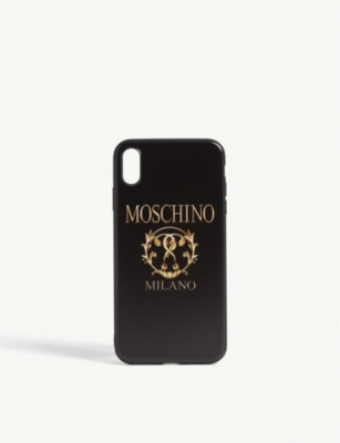 Double Question Mark Logo I Phone Xs Max Case by Moschino