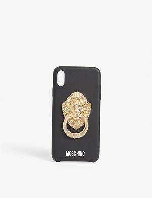 MOSCHINO Lion knocker iPhone XS Max case