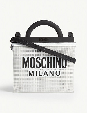 MOSCHINO Mini mesh tote bag