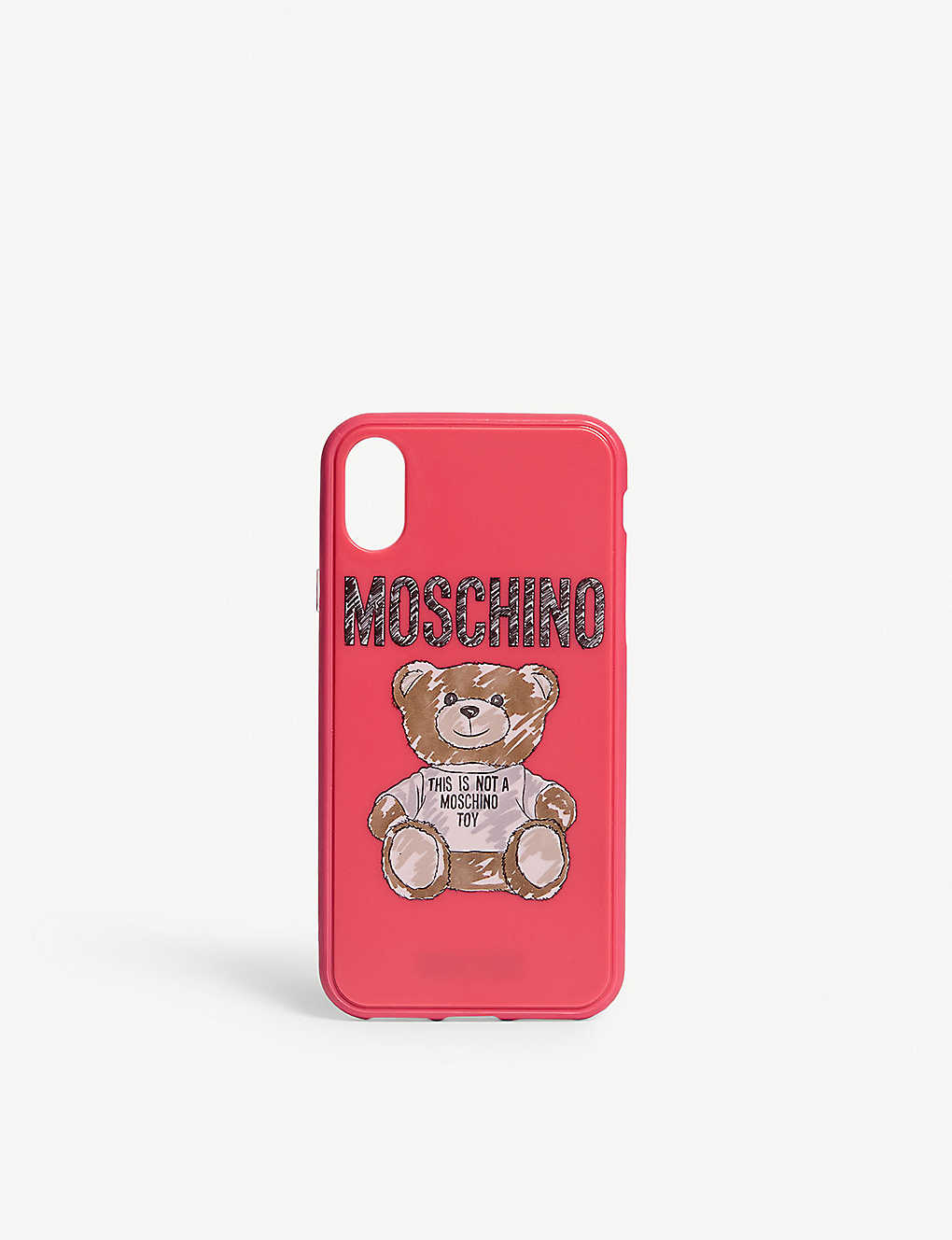 cheap for discount 8c37e 405af MOSCHINO - Sketched teddy iphone Xs case | Selfridges.com