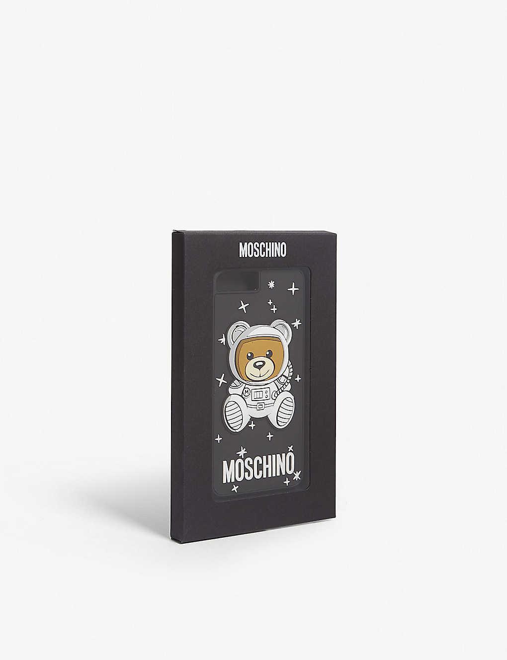 new styles 8228a 55a17 MOSCHINO - Space bear iPhone X case | Selfridges.com