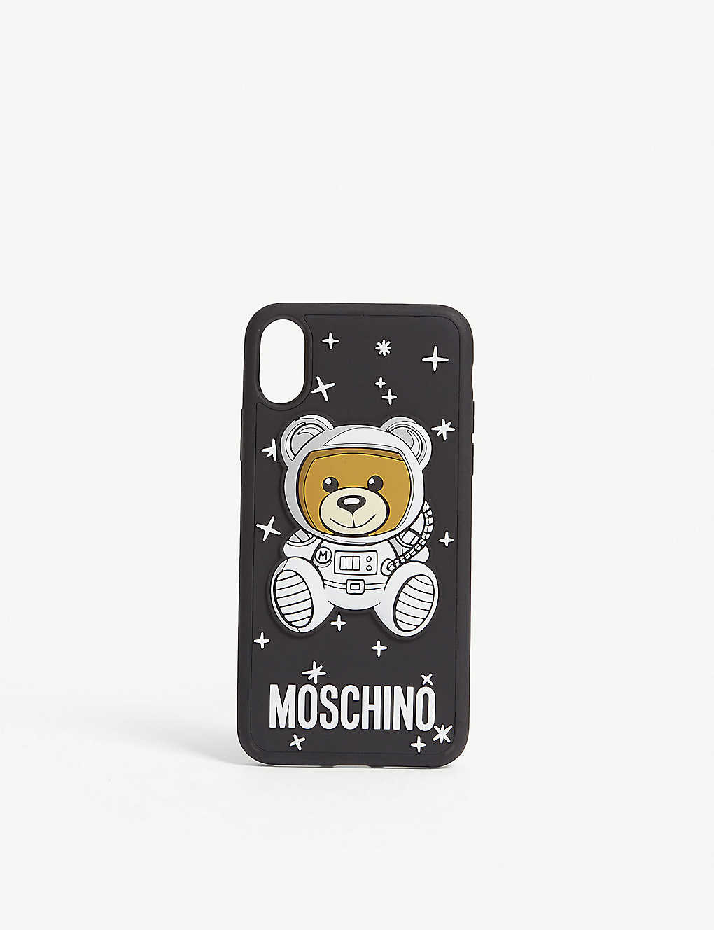 new styles 74286 de42b MOSCHINO - Space bear iPhone X case | Selfridges.com
