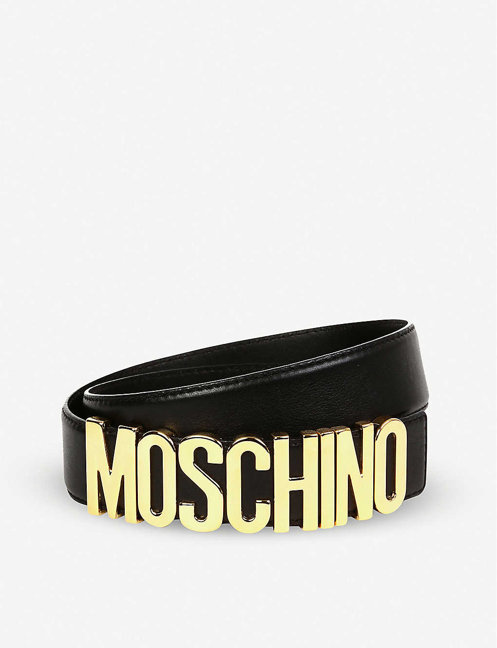 0f18901fc9e MOSCHINO - Logo belt | Selfridges.com