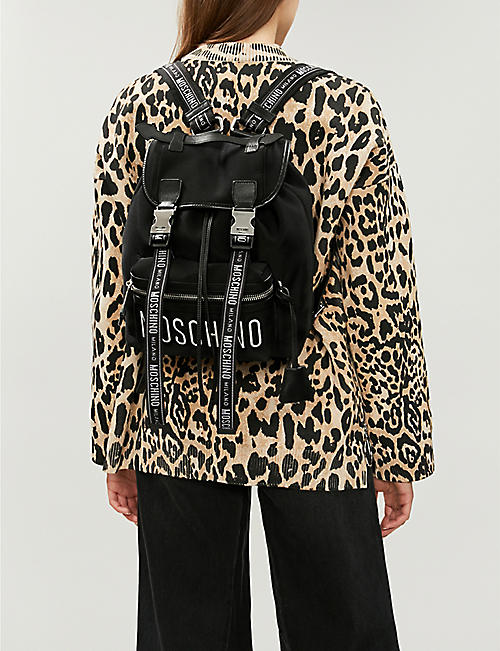 MOSCHINO Nylon backpack
