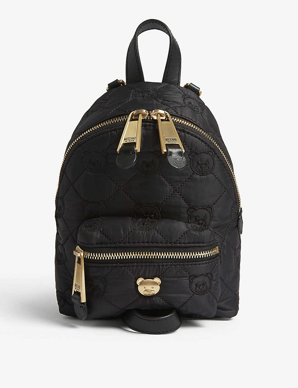 7b9053a683 MOSCHINO - Mini quilted Toy bear backpack | Selfridges.com