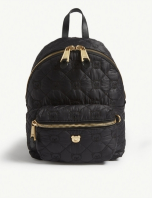 MOSCHINO Medium quilted Toy Bear backpack