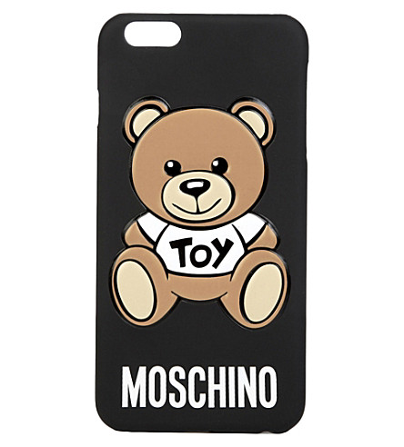Toy Bear Iphone 6 Plus Case, Black