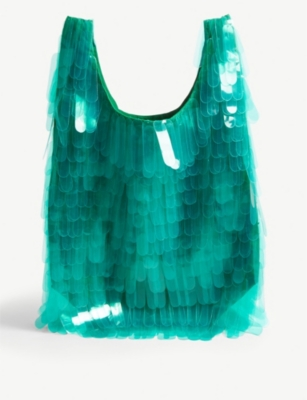 DRIES VAN NOTEN Fringed tote