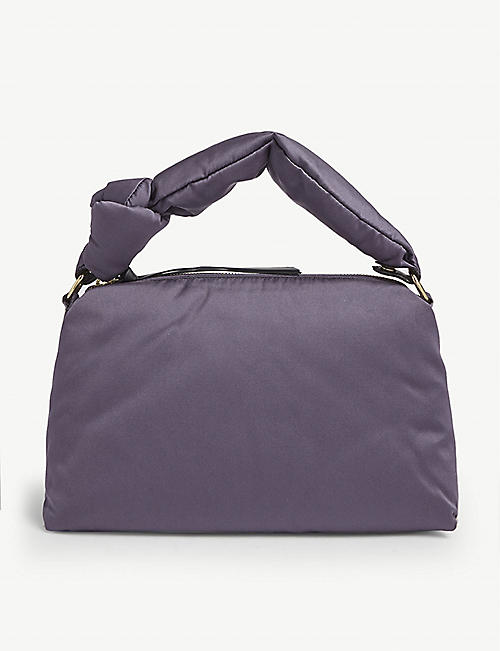 DRIES VAN NOTEN Padded satin shoulder bag
