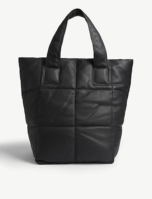 DRIES VAN NOTEN XL padded leather tote