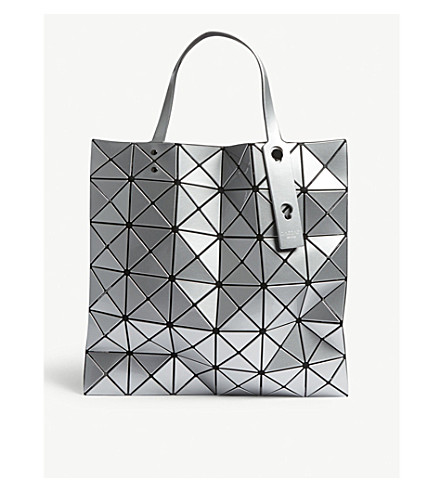 be3d24a581 ... BAO BAO ISSEY MIYAKE Lucent large tote bag (Silver. PreviousNext