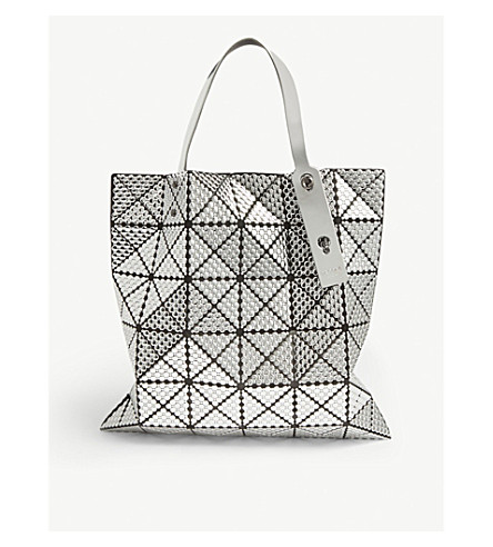 3a7645a52e ... Lucent metallic bubble tote (Silver. PreviousNext