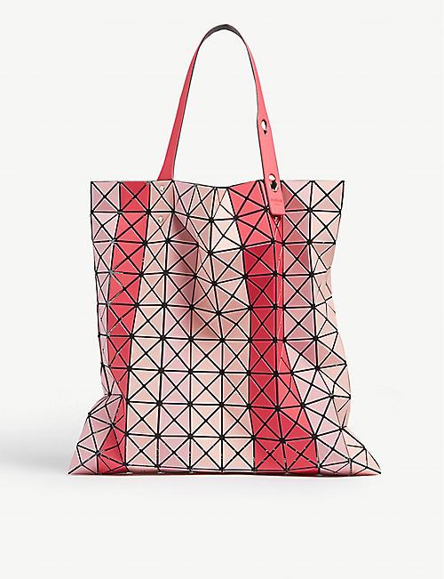 9d4a30c3c11a0 BAO BAO ISSEY MIYAKE Striped Prism tote bag