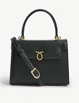 LAUNER: Judi leather tote bag
