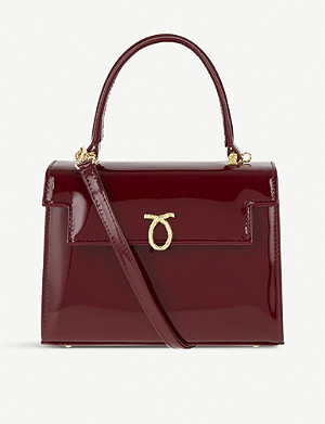 LAUNER Judi leather tote