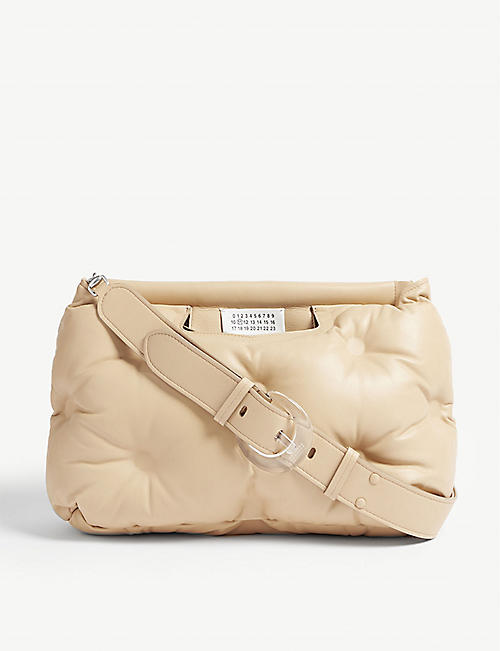 MAISON MARGIELA Pillow medium leather shoulder bag