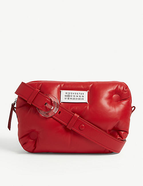 MAISON MARGIELA Pillow leather cross body bag