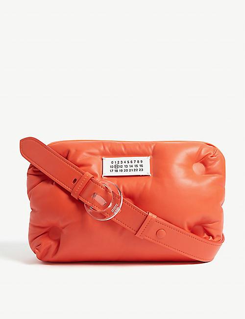 5a0b16fa3afc MAISON MARGIELA Pillow leather cross body bag